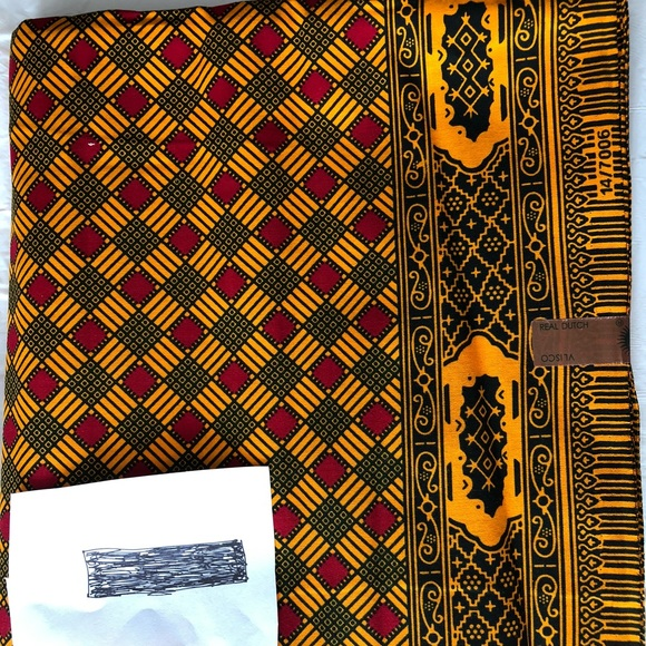 Other - African wax fabrics 6yrds